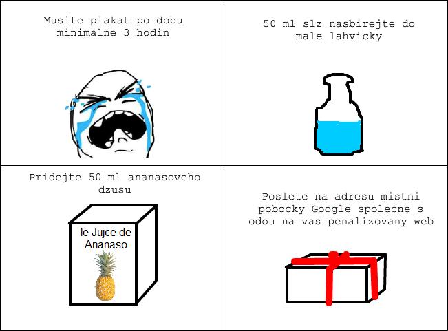 Jak na penalizaci Google - Poslední šance
