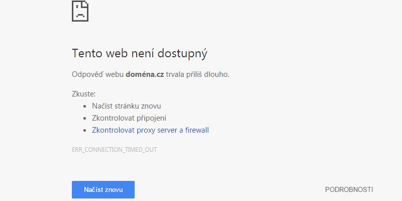 Otestujte jestli váš web je dostupný z celého světa